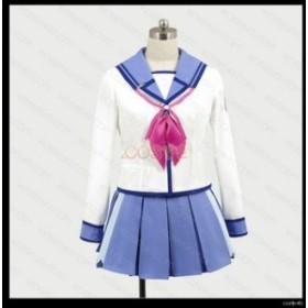 Angel Beats! SSS制服 岩沢まさみ いわさわまさみ 風 コスプレ衣装 cosplay イベント 変装 仮装コスチューム