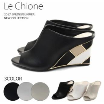【 Le Chione by JELLY BEANS (ルキオネ)】【サンダル】 ヒールが可愛い☆サマーサンダル lc347-2