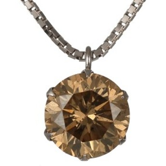 ネックレス 一粒 ダイヤモンド ネックレス プラチナ ダイヤモンドネックレス ダイヤモンド ダイヤ 1カラット ファンシーカラー