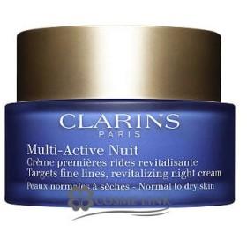 クラランス CLARINS Mアクティヴ ナイト クリーム ドライ/ノーマル 50ml (156126)