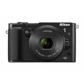 Nikon ミラーレス一眼Nikon 1 V3 標準パワーズームレンズキット ブラック N1V3HPLKBK 中古 良品