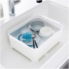 山崎実業 洗い桶 タワー ホワイト 3591
