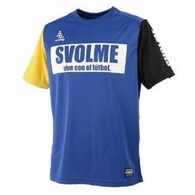 SVOLMEスボルメ バイカラープラシャツ Sサイズ 161-67000 [030]BLUE(ブルー)