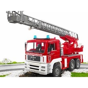 Bruder ブルーダー社 MAN 消防車 ~Bruder Pro Series(ブルーダー プロシリーズ)。ドイツの老舗おもちゃブランドBruder社の働く車のミニ