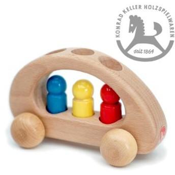 Konrad Keller ケラー社 ファミリーカー ~ドイツのおもちゃメーカーKonrad Keller(ケラー社)のシンプルで美しいブナ材でできた木の車