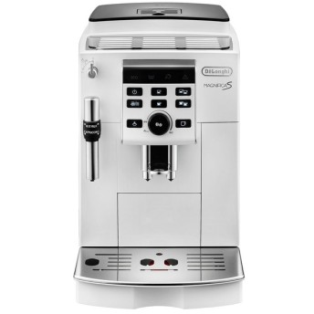 DeLonghi デロンギ コンパクト全自動コーヒーマシン マグニフィカS ホワイト ECAM23120WN