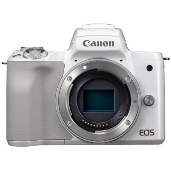 CANON EOS Kiss M ボディ ホワイト [ミラーレス一眼カメラ(2410万画素)] デジタル一眼カメラ