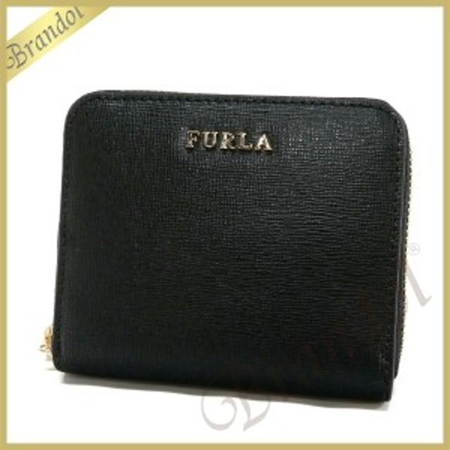 4308972de4da フルラ FURLA 財布 レディース 二つ折り財布 BABYLON バビロン スモールレザー ブラック PR84 B30 O60 /