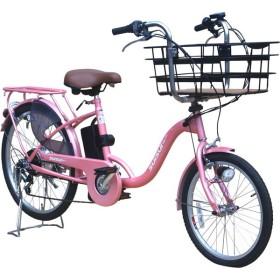 kaihou KH-DCY07PPI-BB パールピンク SUISUI(スイスイ) [電動アシスト自転車(20/24インチ・外装6段)] 電動自転車