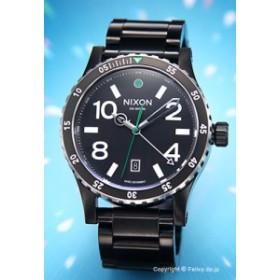 ac4f3c3202aa NIXON ニクソン 腕時計 メンズ Diplomat SS ブラック/シルバー/グリーン A2771421 【A277-1421