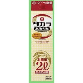 宝 本みりん カジュアルパック 2000mlパック(2L)(1)