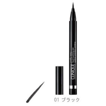 クリニーク CLINIQUE プリティ イージー リキッド アイライニング ペン 01 ブラック【メール便可】