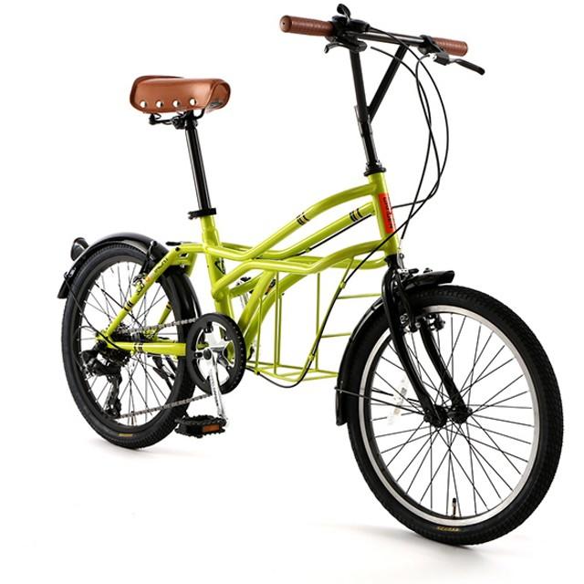 DOPPELGANGER 330-N-GR クレーヴェン ロードヨット [ミニベロ(20インチ・7段変速)] 折りたたみ自転車・ミニベロ