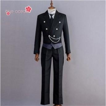 黒執事 くろしつじ セバスチャン・ミカエリス 燕尾服 えんびふく 風  コスプレ衣装  cosplay  cos