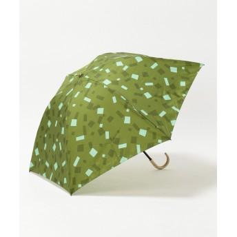 【オンワード】 MOONBAT(ムーンバット) cocca クラッカー 折りたたみ傘 オリーブグリーン F レディース 【送料無料】