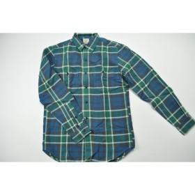 J.CREW / Vintage Flannel Shirt Stuart / Vintage Cobalt Blue ジェイクルー / ビンテージフランネルシャツStuart / ビンテージコバルトブルー