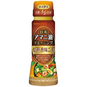 日清アマニ油ドレッシング 焙煎香味ごま 160ml 1本 日清オイリオ