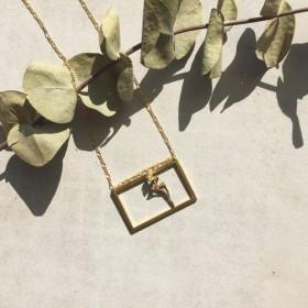 YANGYANG Frame Necklace / YANGYANG 植物園ネックレス