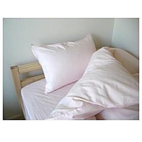 【掛ふとんカバー】さらりシリーズ カラー ダブルサイズ(綿100%/190×210cm/ピンク)【日本製】