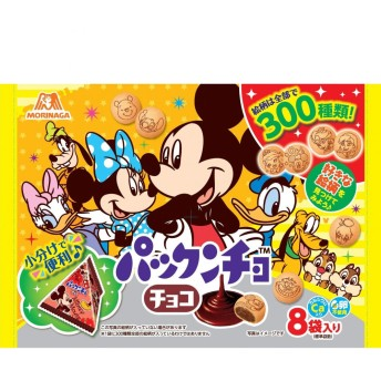 ディズニー パックンチョ チョコプチパック 8袋【お菓子】
