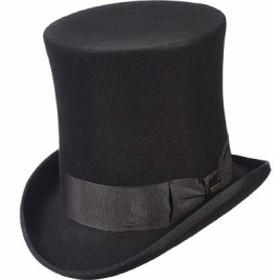ハット 帽子 メンズ【Scala WF571 Victorian Tall Top Hat】Black