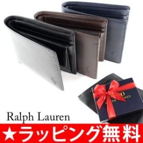 ポロ ラルフローレン RALPH LAUREN 財布 折り財布