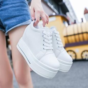 キャンバスシューズ 厚底靴 カジュアルシューズ 春夏 シューズ レディース 運動靴 大きいサイズ スリッポン