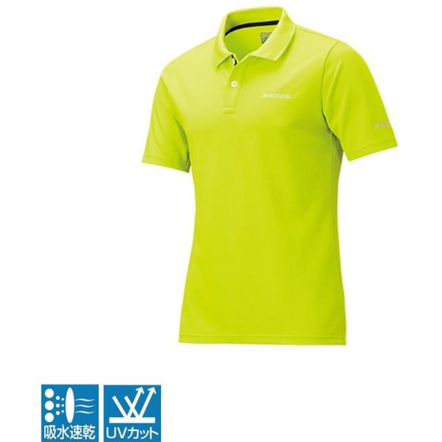 シマノ(SHIMANO) SH-074R ポロシャツ(半袖) M ライム 56300