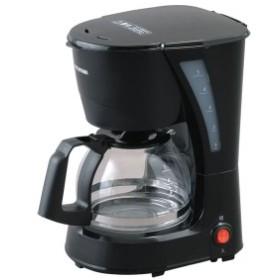 コーヒーメーカー ブラック ドリップ コーヒー 保温 朝食 サーバー メッシュフィルター おしゃれ CMK-652-B アイリスオーヤマ