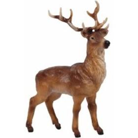 [メール便可] PAPO パポ社 シカの雄 ~フランス、PAPO(パポ社)のWild Animalsシリーズ、野生の動物の