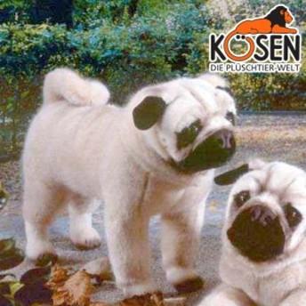 KOESEN ケーセン社 パグ 立ち 5890 ~ドイツ・KOESEN/KOSEN(ケーセン社)の動物のぬいぐるみ。愛ら