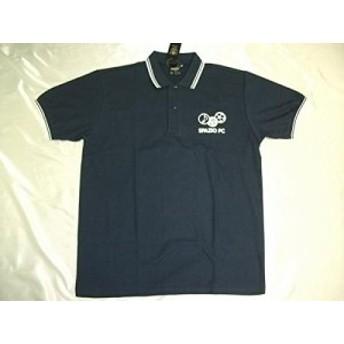 Spazioスパッツィオ 半袖ポロシャツ Lサイズ ネイビー TP-0385-21-L