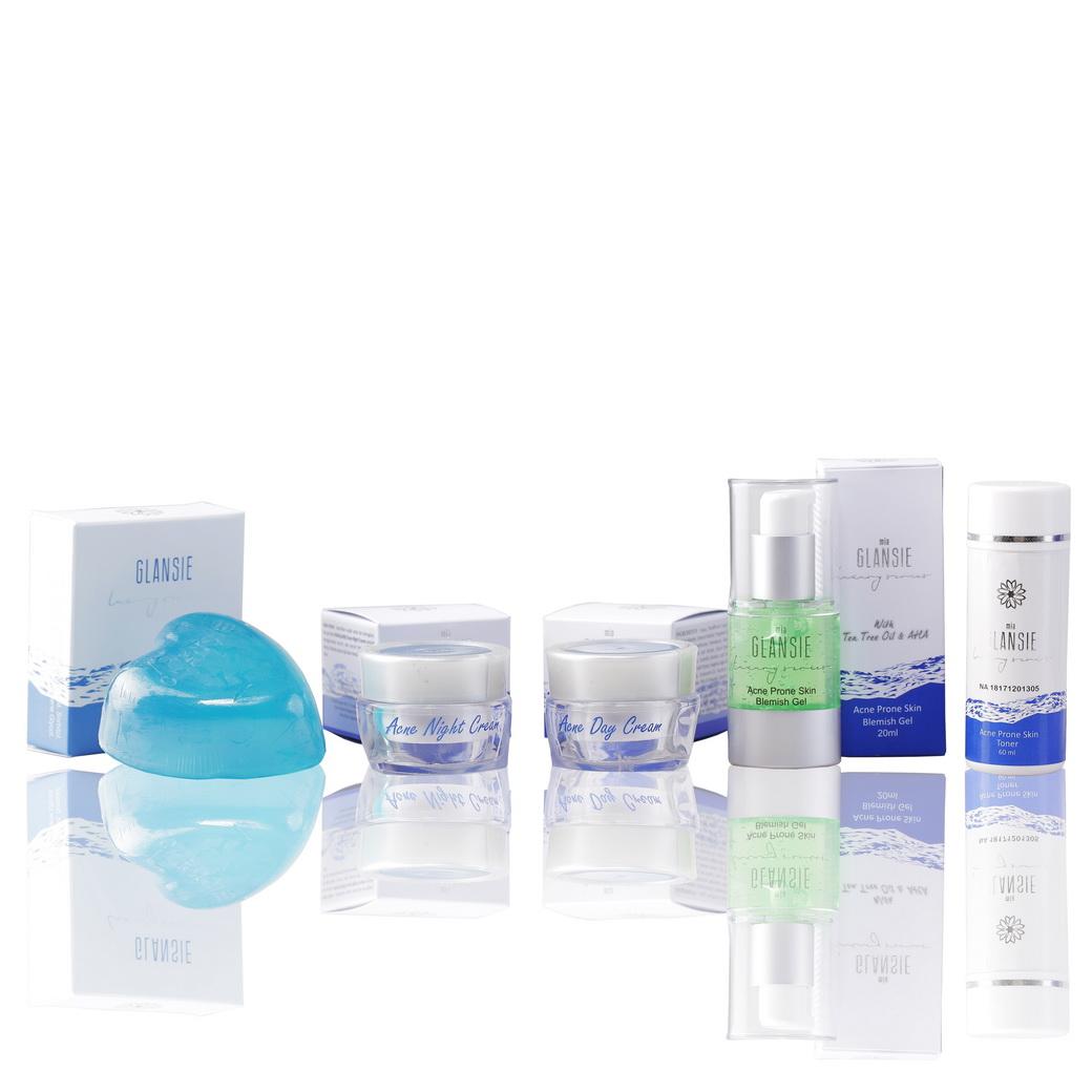 Glansie Beuty Care Whitening Beauty Cream Paket Normal Skin Beli Skincare Sabun Batang Luxury Acne Package Serum