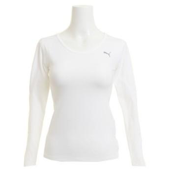 プーマ(PUMA) テック ライト 長袖Tシャツ W 516803 02 WHT (Lady's)