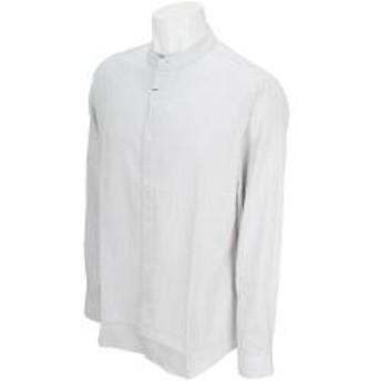 ビーヌーヴォ B.NUOVOコードレーンバンドカラー長袖シャツ