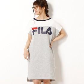 フィラ(FILA)/スウェット裏メッシュワンピース