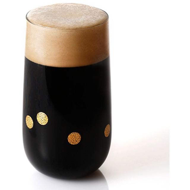 【月夜野工房】ビールグラス ホタル