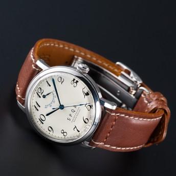 【SPQR】THE SPQR「SOMES+Uタイプ3つ折れバックル腕時計」