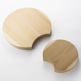【陶片木】まな板 大小セット