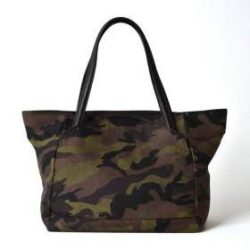 【PELLE MORBIDA】Onda Tote Bag CAMOUFLAGE / Width