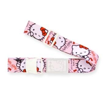 Hello Kitty(ハローキティ)/ワンタッチスーツケースベルト(ワンタッチで簡単)スタンダード