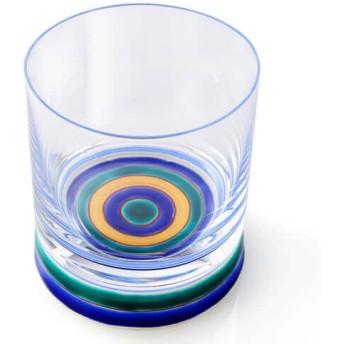 【九谷和グラス】ロックグラス・こま