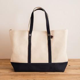 【エンドー鞄】嘉玄 キャンバストートバッグL