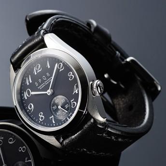 【SPQR】Ventuno ss 手巻付自動巻 スモールセコンド/クラシック文字盤 腕時計
