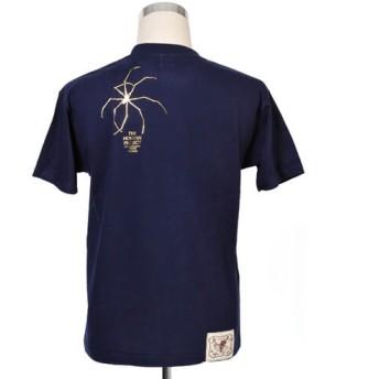 【久米繊維工業】北斎プロジェクトTシャツ「蜘蛛の糸」