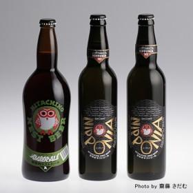 【木内酒造】常陸野ネストビール アンバーエール・ニッポニア3本セット