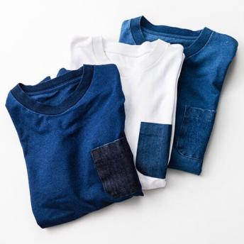 【ELNEST】旅するジーンズ 帆デニムTシャツ