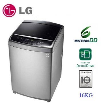 LG 16公斤 DD 直立式變頻洗衣機 WT-D166VG 不銹鋼銀 + 舊機回收