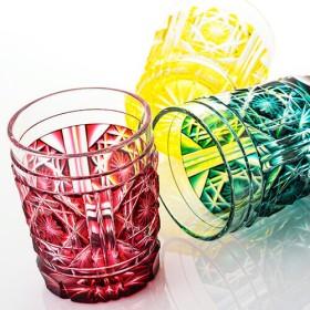 【美の匠 ガラス工房 弟子丸】薩摩切子タンブラー