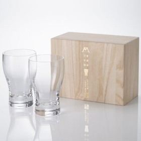 【松徳硝子】ビールグラスコレクション「麦酒盃弐客揃」